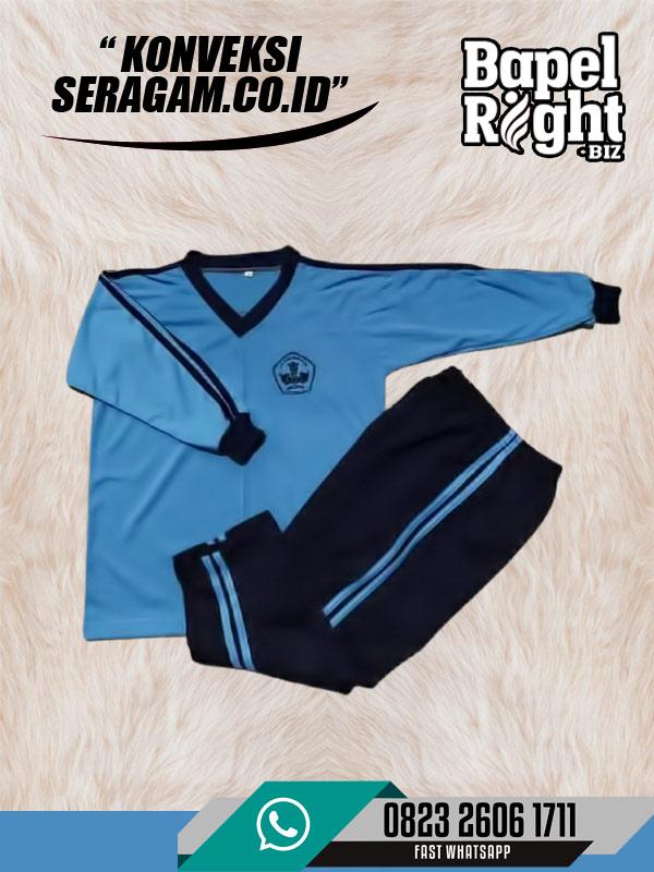 Kaos Olahraga SD Lengan Panjang